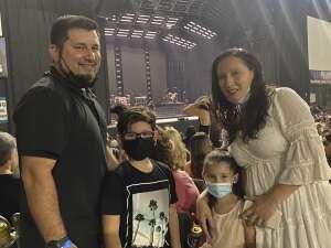 J. De Leon  attended Jonas Brothers: the Remember This Tour on Aug 28th 2021 via VetTix