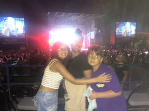 Daniel Davila attended Jonas Brothers: the Remember This Tour on Aug 28th 2021 via VetTix