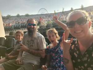 Rutherford family  attended Kegl's Bfd W/ the Offspring & Chevelle on Sep 5th 2021 via VetTix