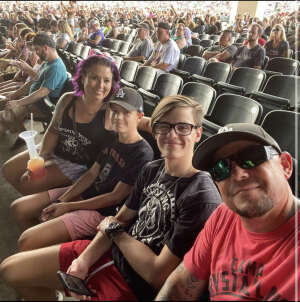 EB attended Kegl's Bfd W/ the Offspring & Chevelle on Sep 5th 2021 via VetTix