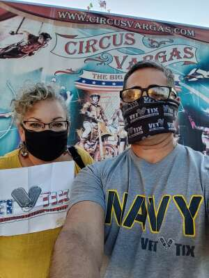 Robert Quintana attended Circus Varges on Aug 27th 2021 via VetTix