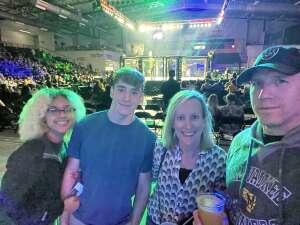 Ken  attended Light-heavyweight Championship 115 on Sep 24th 2021 via VetTix