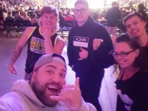 Dustin  attended Light-heavyweight Championship 115 on Sep 24th 2021 via VetTix