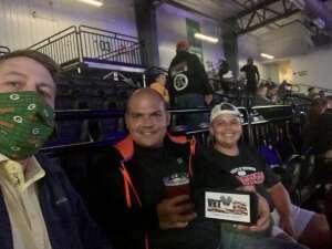 Mike attended Light-heavyweight Championship 115 on Sep 24th 2021 via VetTix
