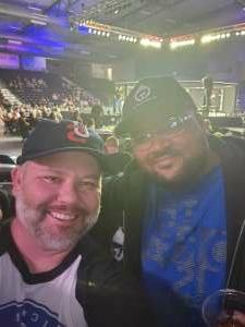 Shawn M attended Light-heavyweight Championship 115 on Sep 24th 2021 via VetTix