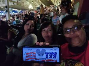 Wendy attended Maroon 5 on Aug 30th 2021 via VetTix