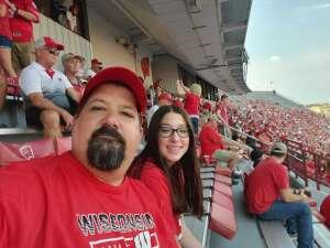 Tim C. attended University of Wisconsin Badgers vs. Eastern Michigan - NCAA Football on Sep 11th 2021 via VetTix