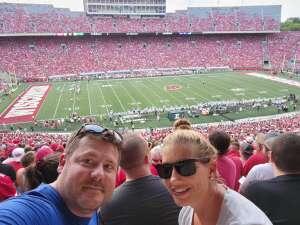 Greg attended University of Wisconsin Badgers vs. Eastern Michigan - NCAA Football on Sep 11th 2021 via VetTix