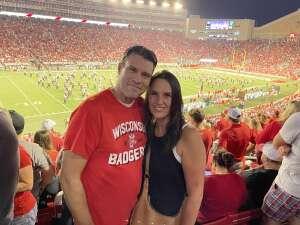 Josh attended University of Wisconsin Badgers vs. Eastern Michigan - NCAA Football on Sep 11th 2021 via VetTix