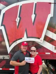 Rick & Debbie Berg attended University of Wisconsin Badgers vs. Eastern Michigan - NCAA Football on Sep 11th 2021 via VetTix