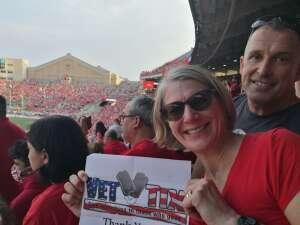 Sue Styer attended University of Wisconsin Badgers vs. Eastern Michigan - NCAA Football on Sep 11th 2021 via VetTix