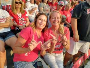 Karen attended University of Wisconsin Badgers vs. Eastern Michigan - NCAA Football on Sep 11th 2021 via VetTix