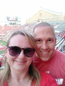 Randy attended University of Wisconsin Badgers vs. Eastern Michigan - NCAA Football on Sep 11th 2021 via VetTix
