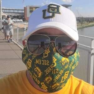 Phillip Bowman  attended Baylor University Bears vs. Texas Southern University Tigers - NCAA Football on Sep 11th 2021 via VetTix