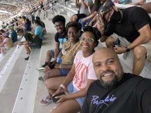 Joe M. attended Baylor University Bears vs. Texas Southern University Tigers - NCAA Football on Sep 11th 2021 via VetTix