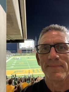 JGV attended Baylor University Bears vs. Texas Southern University Tigers - NCAA Football on Sep 11th 2021 via VetTix