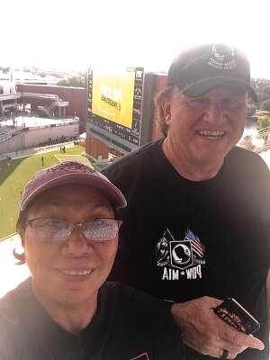 Mark attended Baylor University Bears vs. Texas Southern University Tigers - NCAA Football on Sep 11th 2021 via VetTix