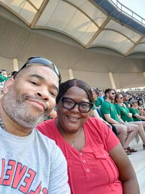 Norman attended Baylor University Bears vs. Texas Southern University Tigers - NCAA Football on Sep 11th 2021 via VetTix