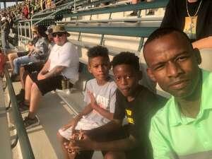 Dameion Jones  attended Baylor University Bears vs. Texas Southern University Tigers - NCAA Football on Sep 11th 2021 via VetTix