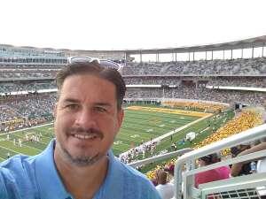 Robert attended Baylor University Bears vs. Texas Southern University Tigers - NCAA Football on Sep 11th 2021 via VetTix