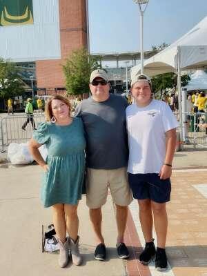 Rick attended Baylor University Bears vs. Texas Southern University Tigers - NCAA Football on Sep 11th 2021 via VetTix