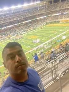 Conrad attended Baylor University Bears vs. Texas Southern University Tigers - NCAA Football on Sep 11th 2021 via VetTix