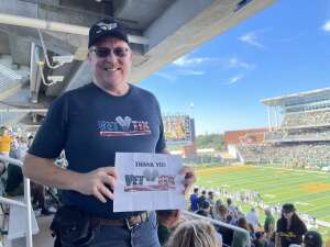 Click To Read More Feedback from Baylor University Bears vs. West Virginia University Mountaineers - NCAA Football