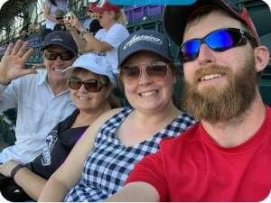 KM attended Colorado Rockies vs. Atlanta Braves on Sep 5th 2021 via VetTix