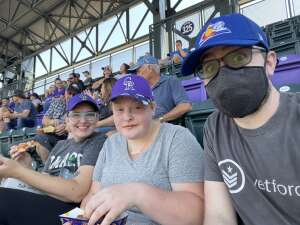 Ben M attended Colorado Rockies vs. Atlanta Braves on Sep 5th 2021 via VetTix