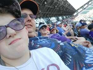Barnes Fam attended Colorado Rockies vs. Atlanta Braves on Sep 5th 2021 via VetTix