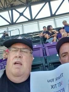 Mike attended Colorado Rockies vs. Atlanta Braves on Sep 5th 2021 via VetTix