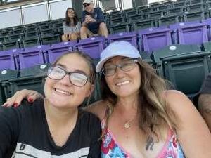 Venus  attended Colorado Rockies vs. Atlanta Braves on Sep 5th 2021 via VetTix