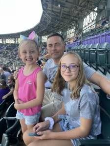 M McGraw attended Colorado Rockies vs. Atlanta Braves on Sep 5th 2021 via VetTix