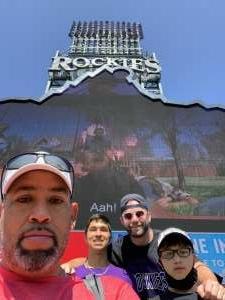 Thanks again! attended Colorado Rockies vs. Atlanta Braves on Sep 5th 2021 via VetTix