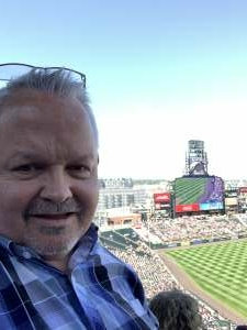 Bill attended Colorado Rockies vs. Atlanta Braves on Sep 5th 2021 via VetTix