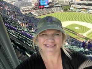 Michelle attended Colorado Rockies vs. Atlanta Braves on Sep 5th 2021 via VetTix