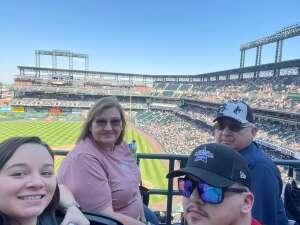 John attended Colorado Rockies vs. Atlanta Braves on Sep 5th 2021 via VetTix