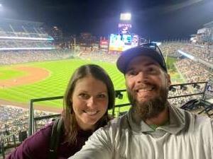 Derek attended Colorado Rockies vs. Los Angeles Dodgers on Sep 22nd 2021 via VetTix