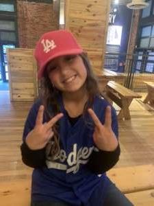 Jackie attended Colorado Rockies vs. Los Angeles Dodgers on Sep 22nd 2021 via VetTix