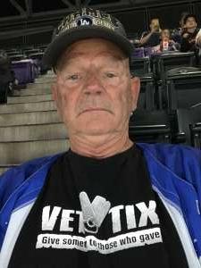 Papa attended Colorado Rockies vs. Los Angeles Dodgers on Sep 22nd 2021 via VetTix