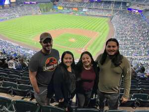 Joshua Estrada attended Colorado Rockies vs. Los Angeles Dodgers on Sep 22nd 2021 via VetTix
