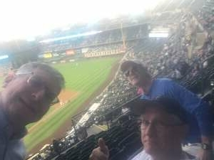 David Warner, Brig Gen, USAF (ret) attended Colorado Rockies vs. Los Angeles Dodgers on Sep 22nd 2021 via VetTix