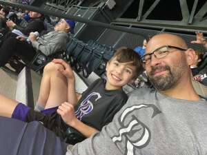 Maloy's attended Colorado Rockies vs. Los Angeles Dodgers on Sep 22nd 2021 via VetTix