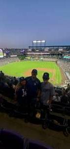 George attended Colorado Rockies vs. Los Angeles Dodgers on Sep 22nd 2021 via VetTix