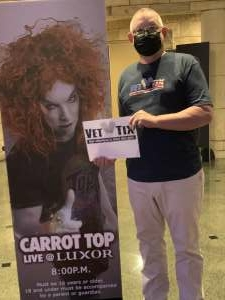 Click To Read More Feedback from Carrot Top