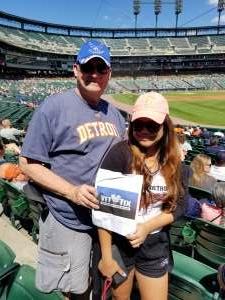 Mark L attended Detroit Tigers vs. Oakland Athletics - MLB on Sep 2nd 2021 via VetTix