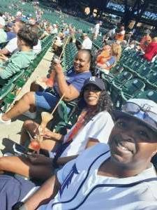 Fred attended Detroit Tigers vs. Oakland Athletics - MLB on Sep 2nd 2021 via VetTix