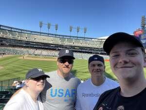 Brian Clemmer attended Detroit Tigers vs. Oakland Athletics - MLB on Sep 2nd 2021 via VetTix