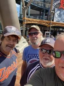 Doug  attended Detroit Tigers vs. Oakland Athletics - MLB on Sep 2nd 2021 via VetTix