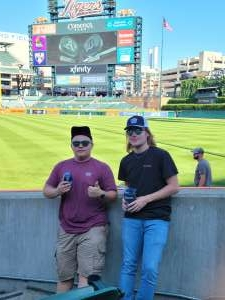 Leo attended Detroit Tigers vs. Oakland Athletics - MLB on Sep 2nd 2021 via VetTix